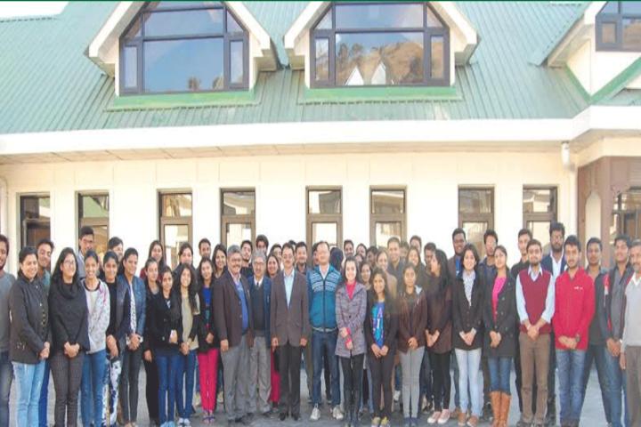 Himachal Pradesh National Law University, Shimla University Students with staff Himachal Pradesh National Law University Shimla