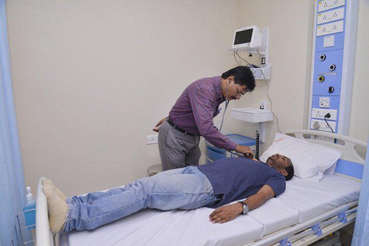 MIT Art Design and Technology University, Pune  Medical facility of MIT Art Design and Technology University Pune