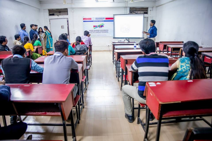 Brainware University, Kolkata  Classroom View of Brainware University Kolkata