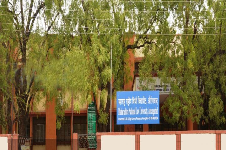 Maharashtra National Law University, Aurangabad Green campus of Maharashtra National Law University Aurangabad