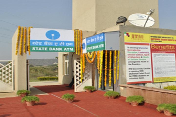 ITM University, Gwalior  Bank Facility of ITM University Gwalior