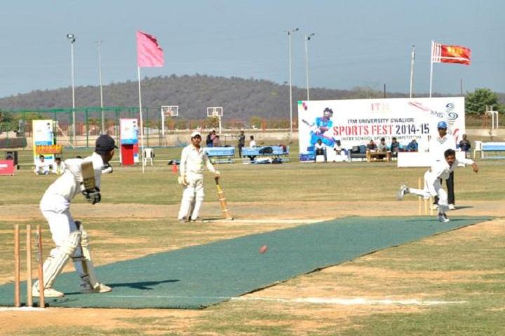 ITM University, Gwalior  Cricket Match Event on ITM University Gwalior
