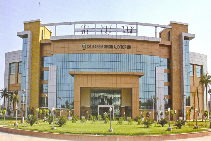 Guru Jambheshwar University of Science and Technology, Hisar  Auditorium View of Guru Jambheshwar University of Science and Technology Hisar