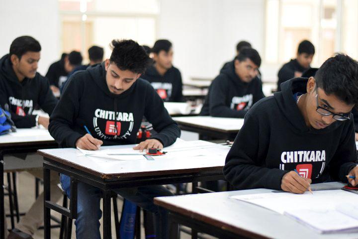 Chitkara University, Patiala  Examination Room Chitkara University Patiala