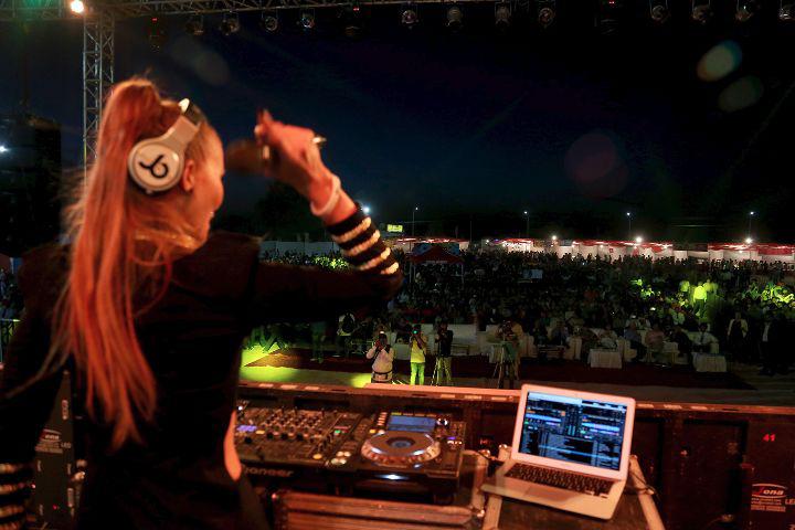 Chitkara University, Patiala  DJ Night Chitkara University Patiala