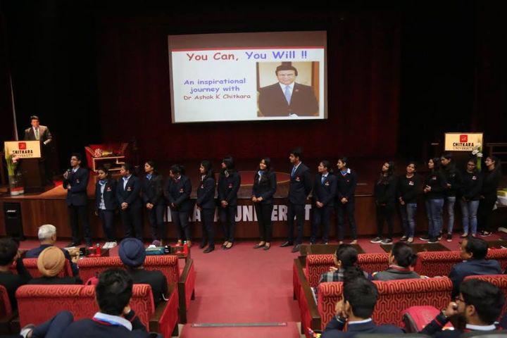 Chitkara University, Patiala  Autitorium Chitkara University Patiala