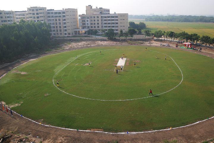 Chitkara University, Patiala  Cricket Ground View of Chitkara University Patiala