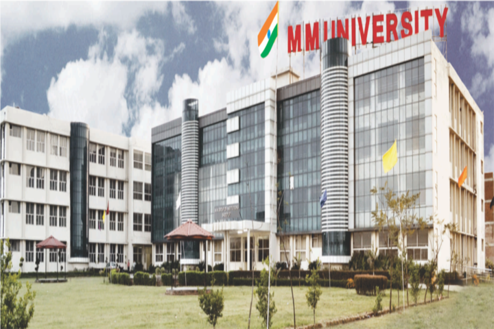 Maharishi Markandeshwar University, Ambala - courses, fee