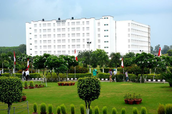 Chandigarh University, Chandigarh  Green Campus View of Chandigarh University Chandigarh