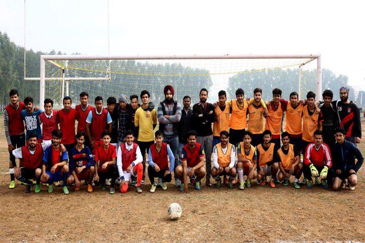 Chandigarh University, Chandigarh  Football Team of Chandigarh University Chandigarh