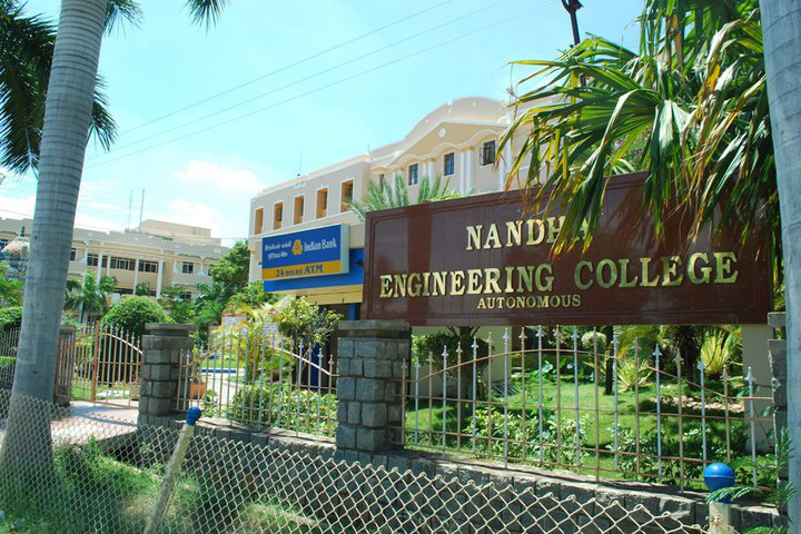 Nandha Engineering College, Erode - courses, fee, cut off, ranking