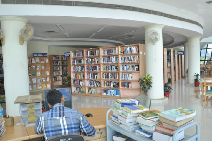 National Law Institute University, Bhopal  Book Self of Library of National Law Institute University