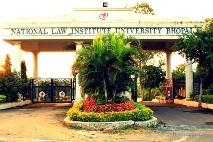 National Law Institute University, Bhopal  Entrance Gate of National Law Institute University