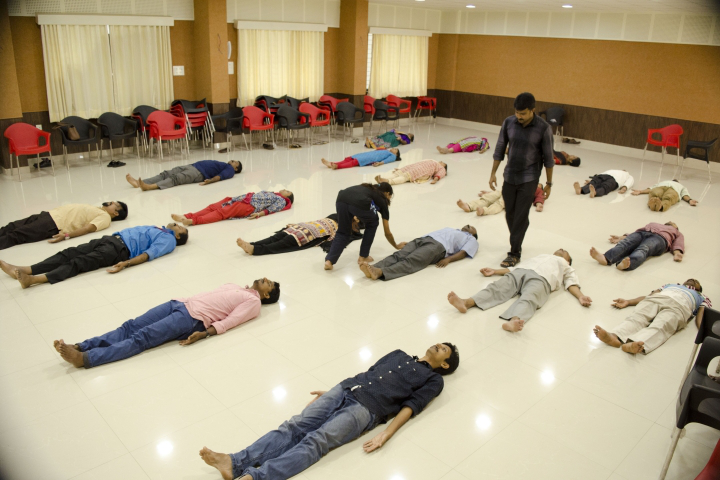 National University of Advanced Legal Studies, Kochi Yoga at National University of Advanced Legal Studies Kochi