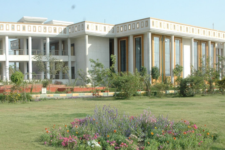 Dr Ram Manohar Lohiya National Law University, Lucknow  Side View of Administrative Bolck Of Dr Ram Manohar Lohiya National Law University Lucknow
