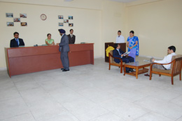 Institute of Hotel Management Catering and Nutrition, Gurdaspur  frontofice