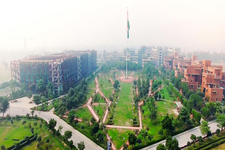 OP Jindal Global University, Sonipat  Areial View of OPJindalGlobalUniversity Sonipat