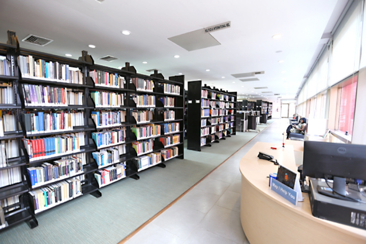 OP Jindal Global University, Sonipat  Library of OPJindalGlobalUniversity Sonipat
