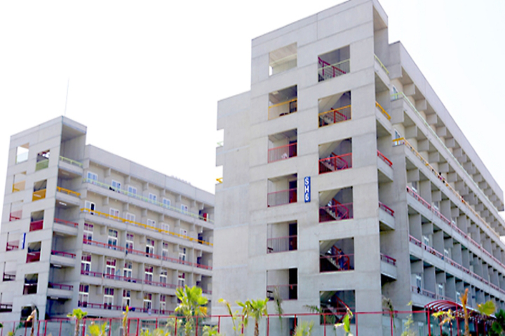 OP Jindal Global University, Sonipat  Hostel building of OPJindalGlobalUniversity Sonipat