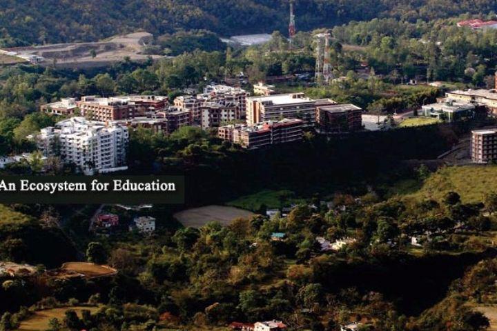 IMS Unison University, Dehradun  Aerial View of IMS Unison University, Dehradun