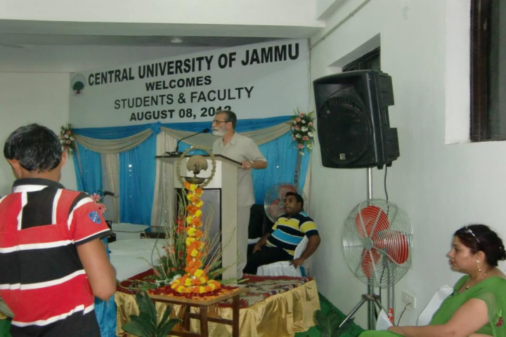 Central University of Jammu, Jammu  Event Of Central University of Jammu