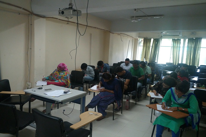 Central University of Punjab, Bathinda  Classroom of Central University of Punjab Bathinda