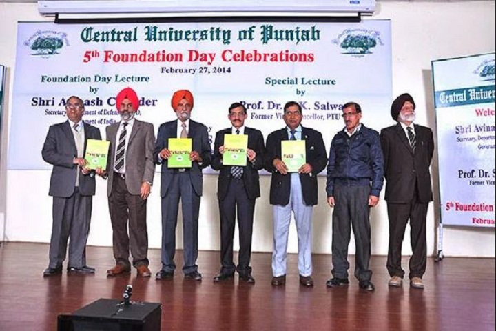 Central University of Punjab, Bathinda  Events Of Central University of Punjab Bathinda
