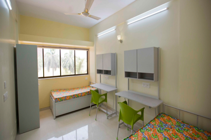 Dr DY Patil University, Navi Mumbai  Hostel Room Facility of Dr DY Patil University Navi Mumbai