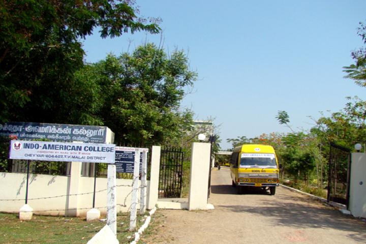Indo-American College, Thiruvannamalai - courses, fee, cut off