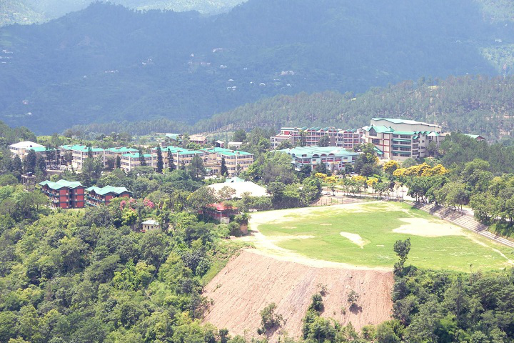 Dr Yashwant Singh Parmar University of Horticulture and Forestry, Nauni Aerial View of Dr Yashwant Singh Parmar University of Horticulture and Forestry Nauni