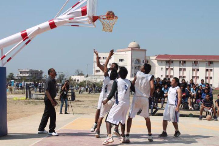 Doon University, Dehradun  Basketball court at Doon University, Dehradun