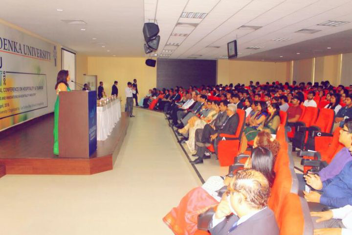 GD Goenka University, Gurgaon Auditorium of GD Goenka University Gurgaon