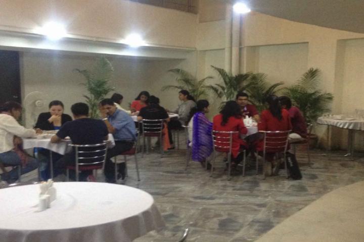 Gujarat National Law University, Gandhinagar Cafeteria of Gujarat National Law University Gandhinagar