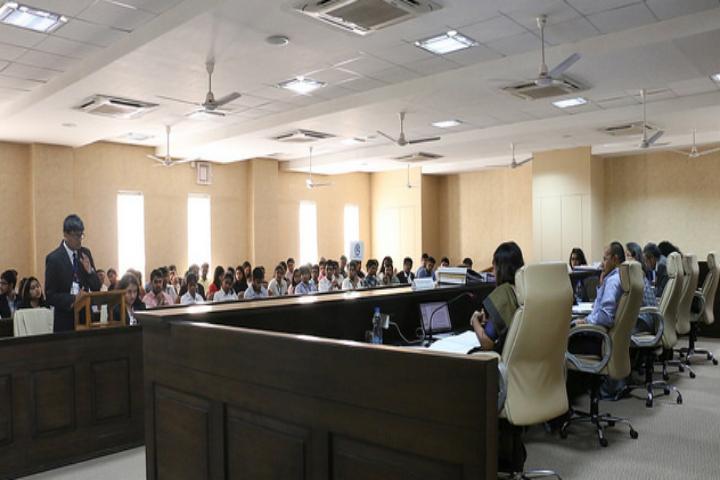 Gujarat National Law University, Gandhinagar Mout Court view of Gujarat National Law University Gandhinagar