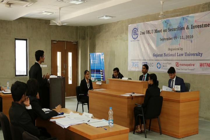 Gujarat National Law University, Gandhinagar Mout Court at Gujarat National Law University Gandhinagar