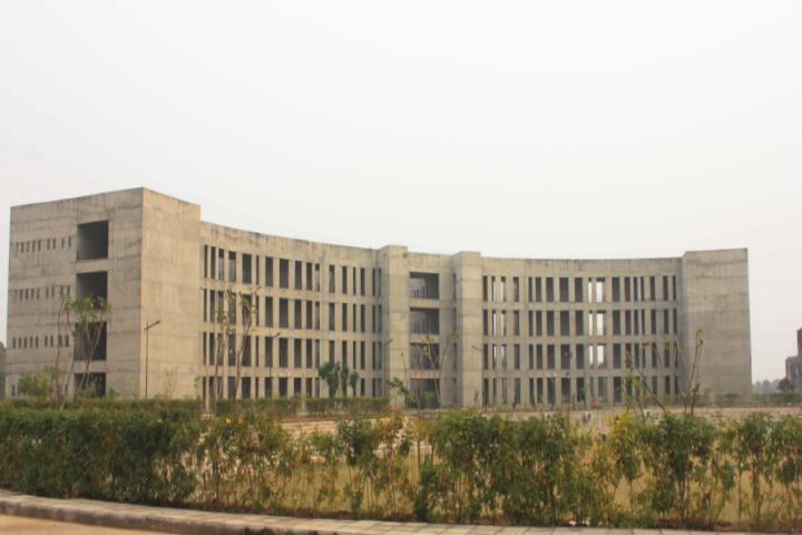 Gujarat National Law University, Gandhinagar University Building view of Gujarat National Law University Gandhinagar