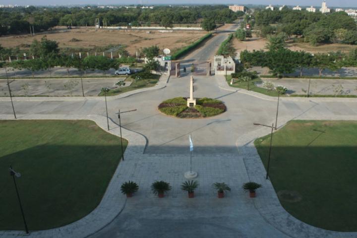 Gujarat National Law University, Gandhinagar University Campus View of Gujarat National Law University Gandhinagar