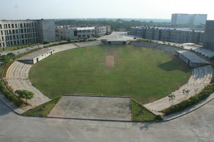 Gujarat National Law University, Gandhinagar Sports Ground of Gujarat National Law University Gandhinagar