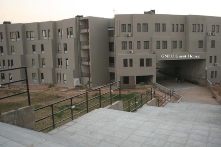 Gujarat National Law University, Gandhinagar University Building of Gujarat National Law University Gandhinagar