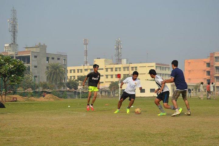 Galgotias University, Greater Noida  Football match at Galgotias University Greater Noida