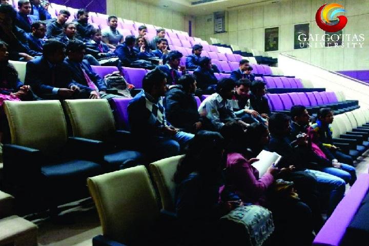 Galgotias University, Greater Noida  Auditorium of Galgotias University Greater Noida