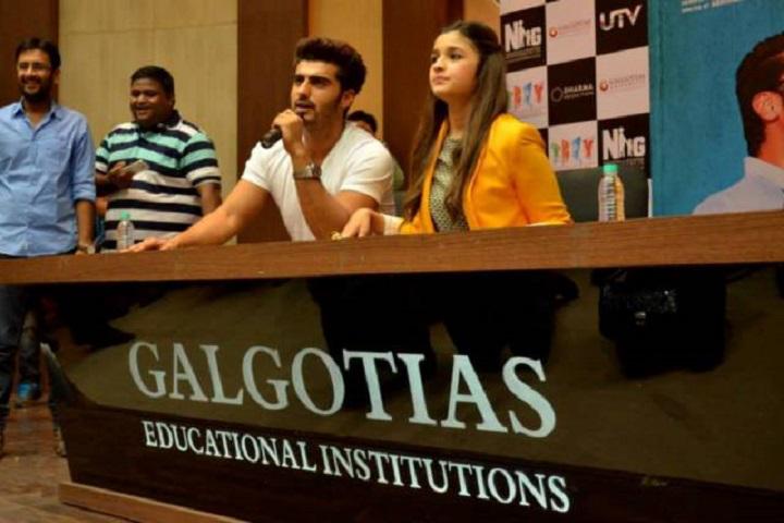 Galgotias University, Greater Noida  Movie Star at Galgotias University Greater Noida