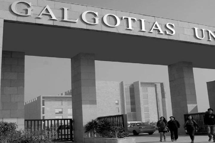 Galgotias University, Greater Noida  Main Gate of Galgotias University Greater Noida
