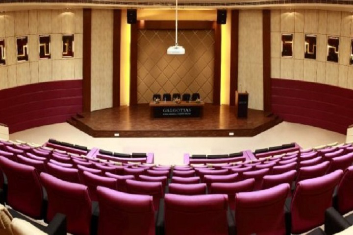 Galgotias University, Greater Noida  View of Auditorium Galgotias University Greater Noida