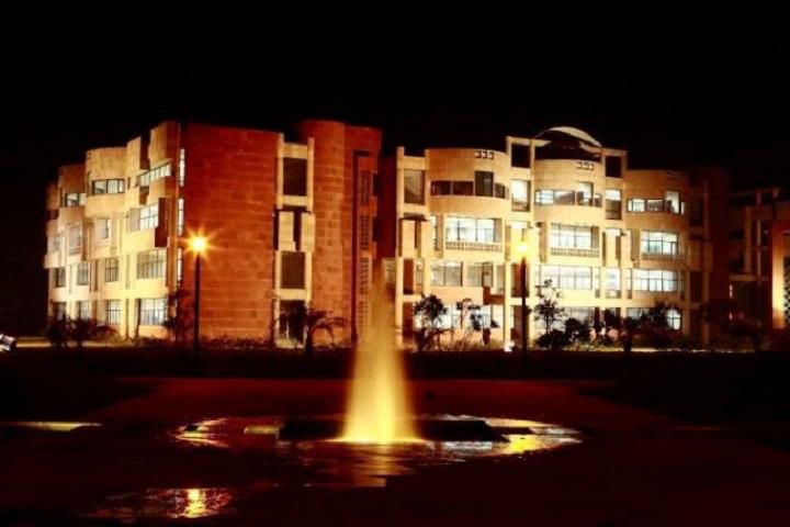 Galgotias University, Greater Noida  Night view of Galgotias University Greater Noida
