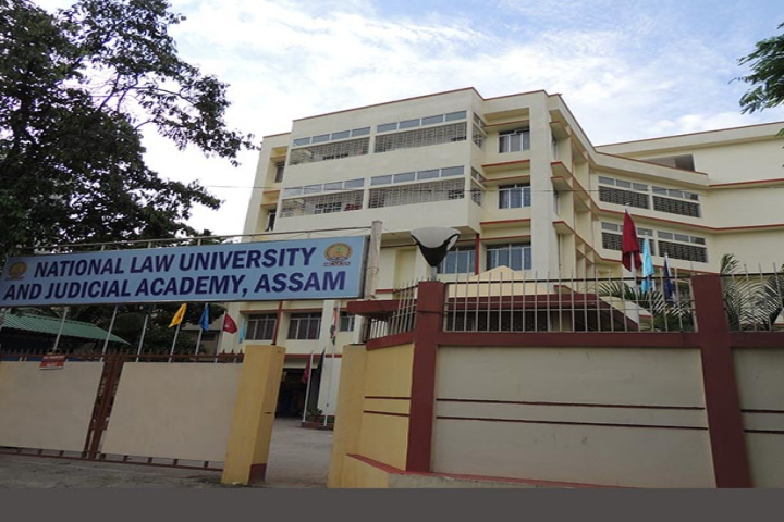 National Law University and Judicial Academy, Guwahati View of National Law University and Judicial Academy Guwahati