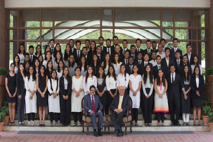 National Law University, New Delhi Batch Picture of National Law University, New Delhi