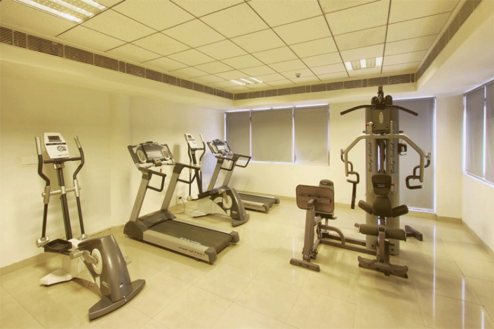 National Law University, New Delhi Gym Facility at National Law University, New Delhi