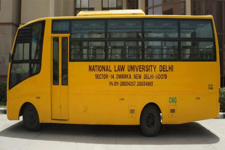 National Law University, New Delhi Transport Facility at National Law University, New Delhi