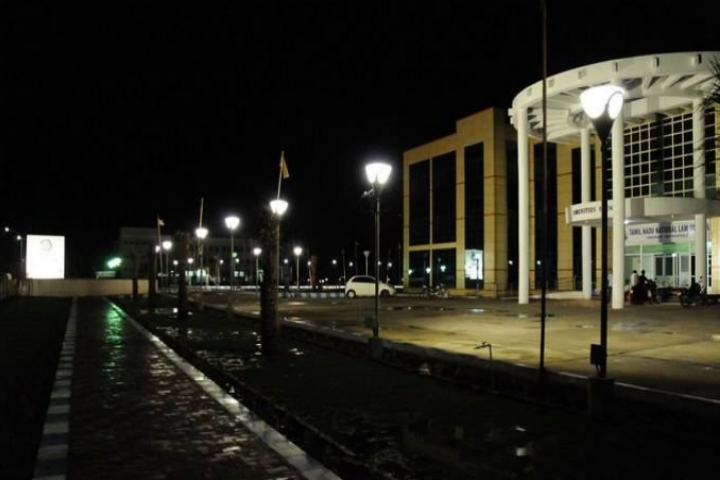 Tamil Nadu National Law University, Tiruchirappalli Night View of Tamil Nadu National Law School Tiruchirappalli